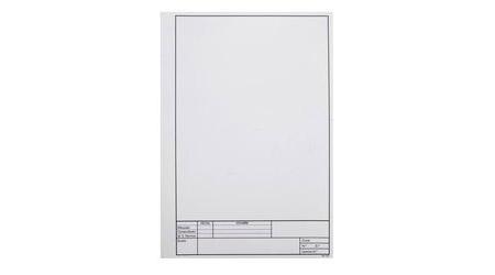Lámina de dibujo - Dossier carpetas